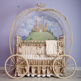 For when the day comes - A Cinderella Bed for the baby!