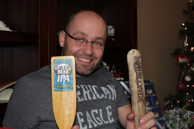 Tobes got Cape Cod Beer Tap Markers!